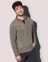 Melange Fleece Jacket